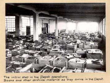 Bibliothek im Transit: Das Offenbach Archival Depot 1946-1949
