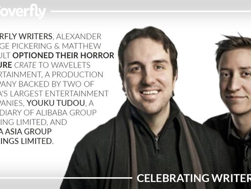 Matt & Alex Sign a Paid Option Deal for their Feature Thriller/Horror Script 'Crate'
