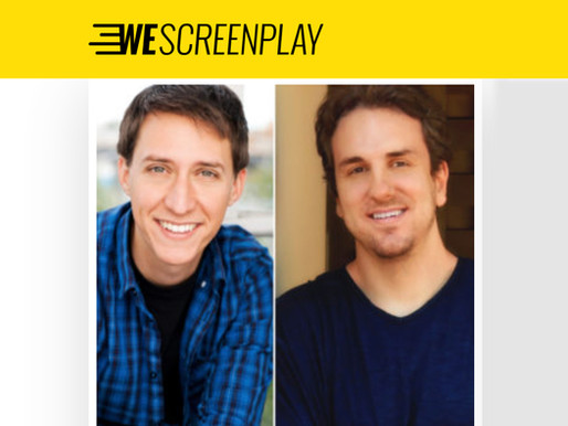 Alex & Matt Sign with ATN Entertainment and Literary Manager Mike Diaz as a Screenwriting Team!