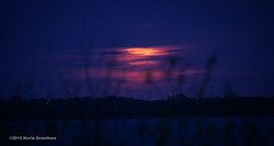 Moonrise Over Ray Roberts