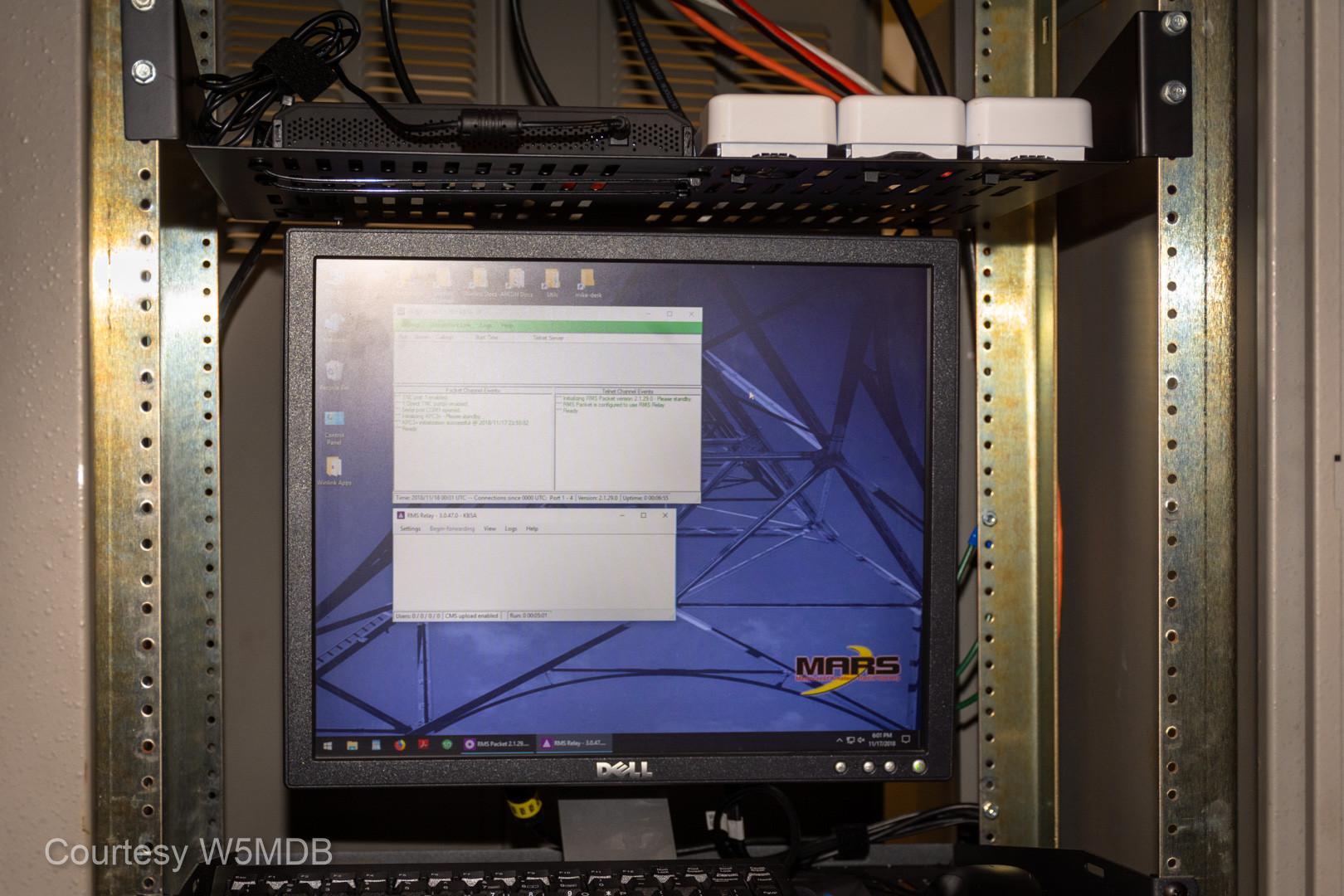 Winlink monitor.