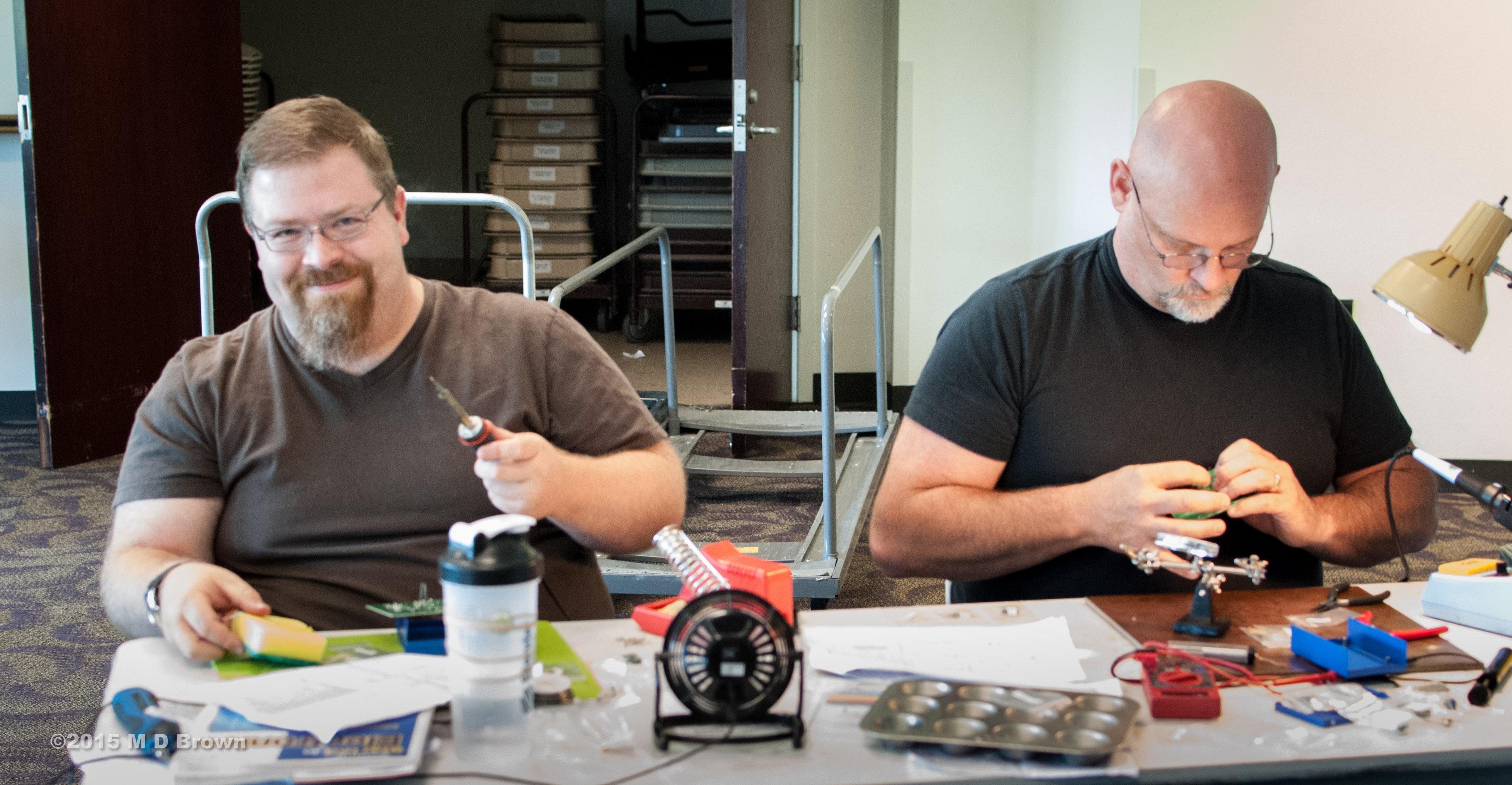 Seth AF5YN & Jim KG5GIF