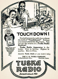 Tuska Radio Ad 1922