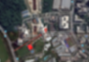 SJI entrance satellite view and directio