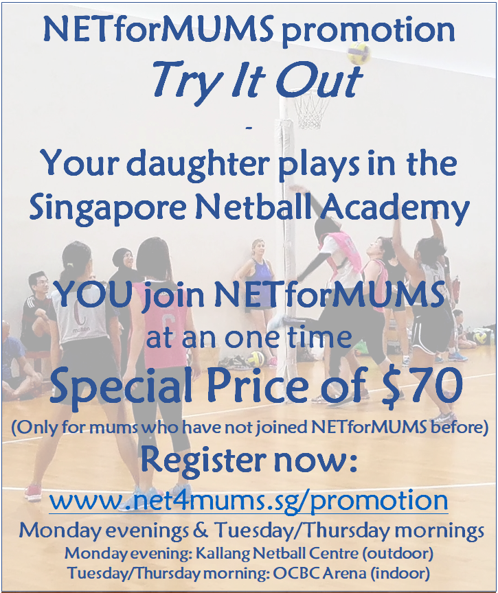 NETforMUMS promotions for new players
