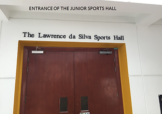 UWC dover- entrance of the junior sports