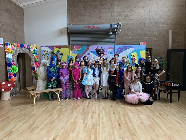 Alice's Adventures Event Center Cast Pic