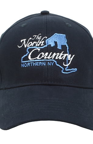 NAVY BLUE HAT - NCNY Logo