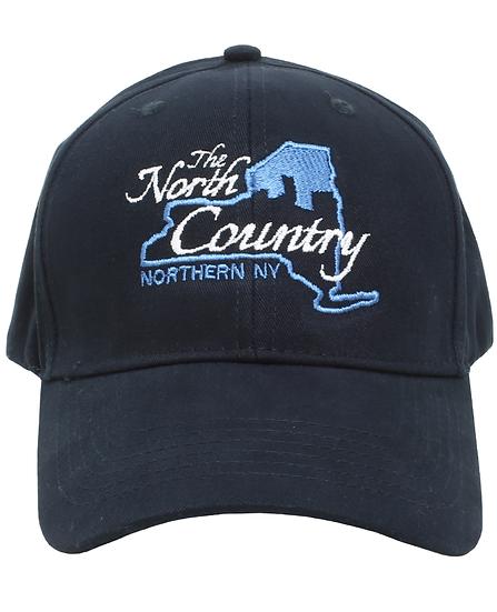 NAVY BLUE HAT - NCNY Logo