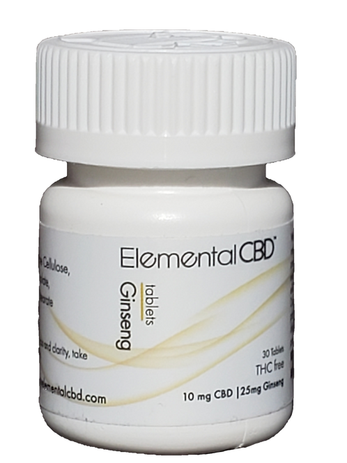 CBD Ginseng Tablets-Day Time
