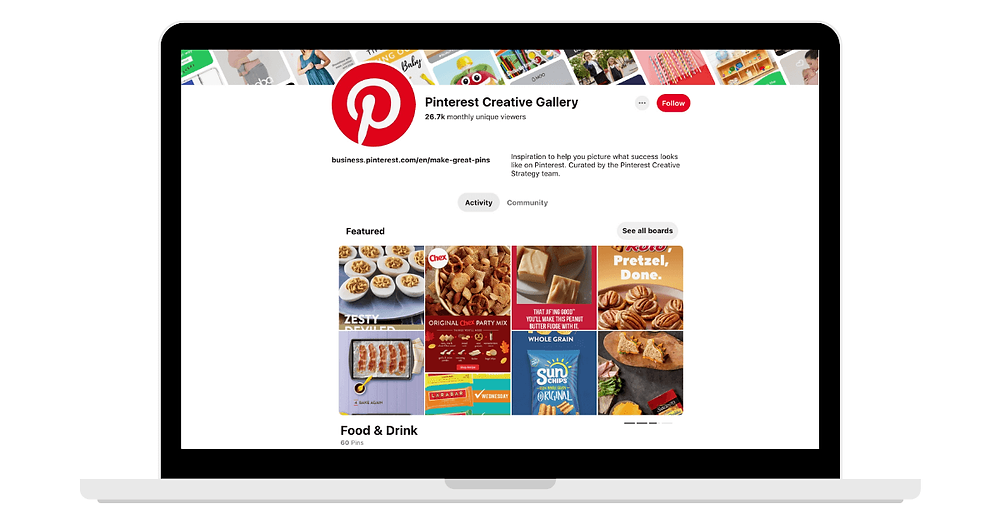 Pinterest Creative Gallery