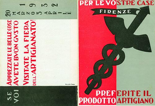 Poster from the II Fiera dell'Artigianato