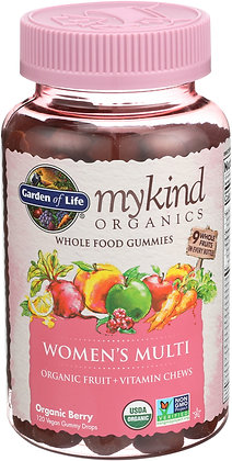 Garden of Life mykind Women's Multi 120 Gummies