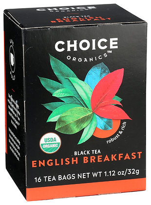 Choice Organics English Breakfast 16 teabags