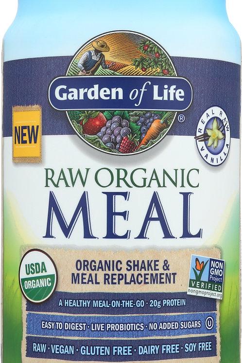 Garden of Life Raw Organic Meal Vanilla 34.2 oz