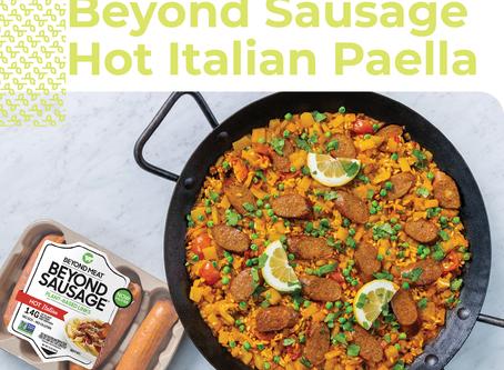 Beyond Sausage Hot Italian Paella