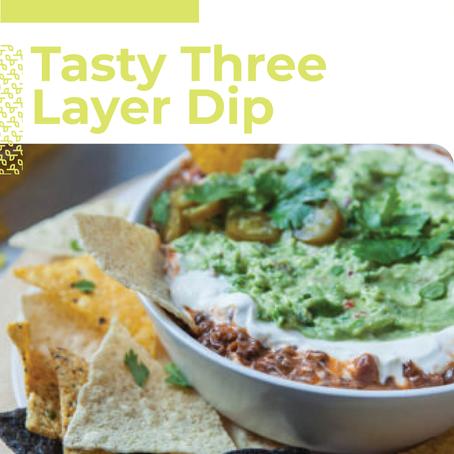 Tasty Three Layer Dip