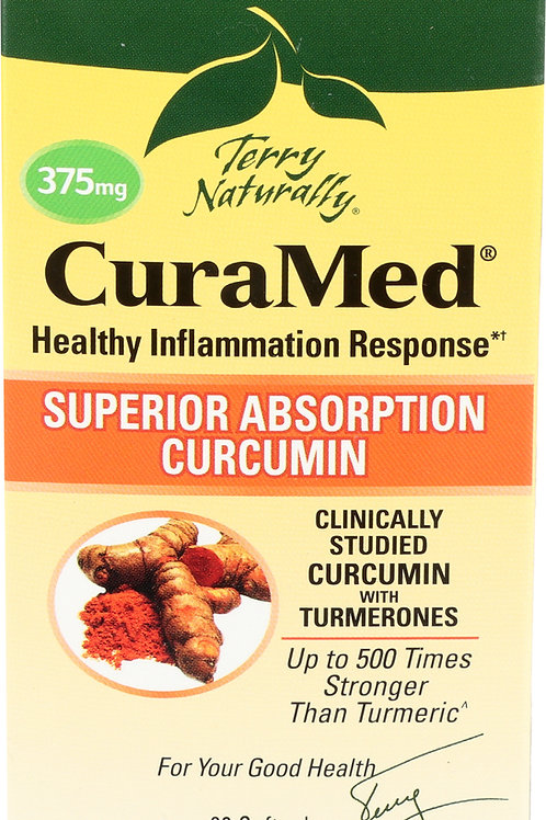 Terry Naturally CuraMed 375mg 60 Softgels
