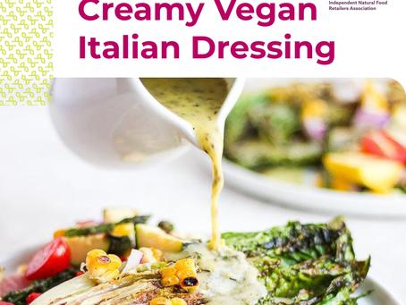Creamy Vegan Italian Dressing