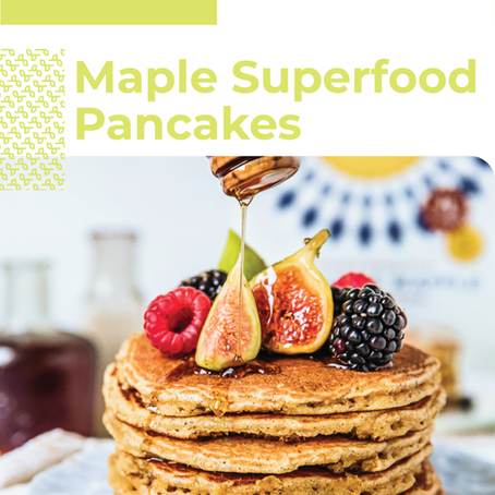 Maple Superfood Pancakes