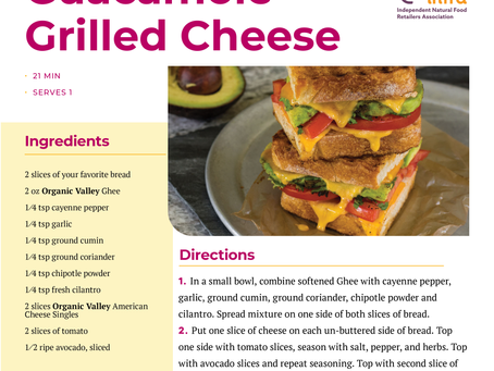 Guacamole Grille Cheese