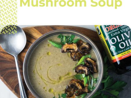 Savory Mushroom Soup