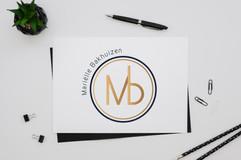 mock up logo design marielle bakhuizen.j