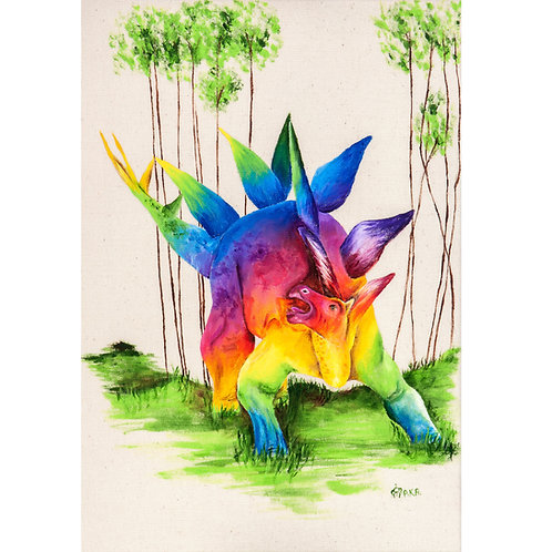 Stegosaurus Prints