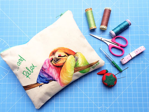 """Sloth - and Relax..."" Little Bag"