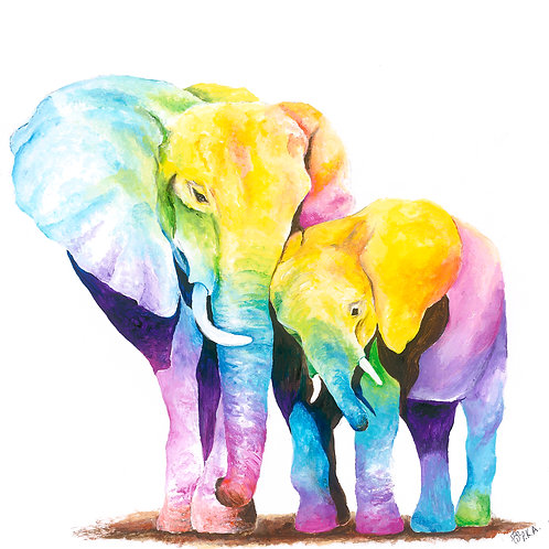 Elephant Love Prints