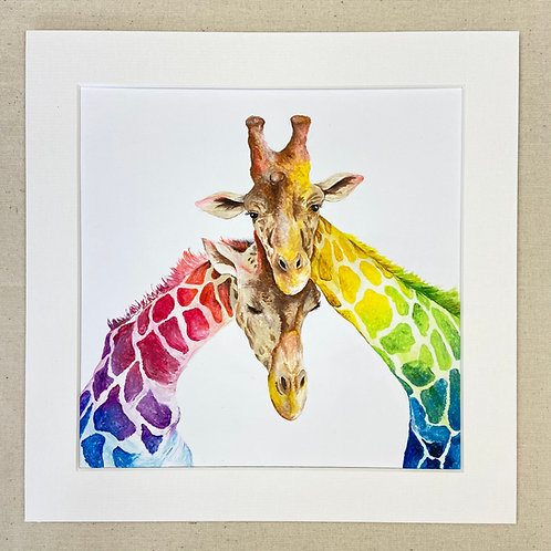 Giraffe Love Original