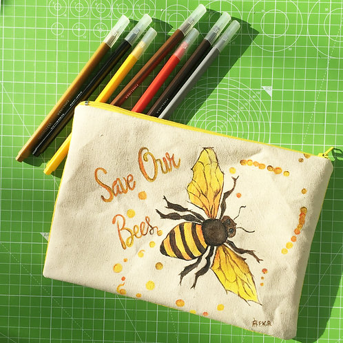 """Save our Bees"" Little Bag"