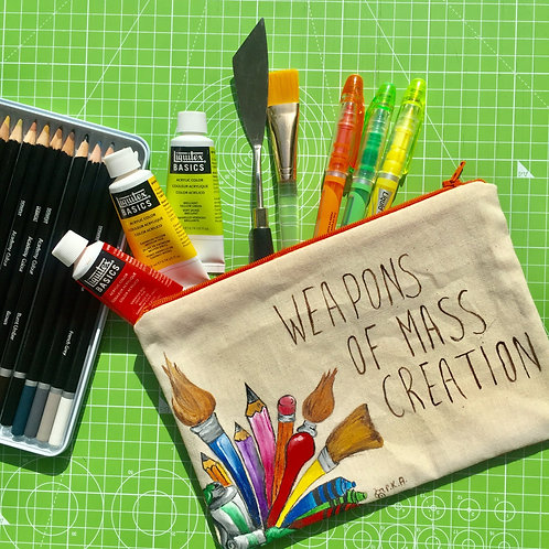 """Weapons of Mass Creation"" Little Bag"