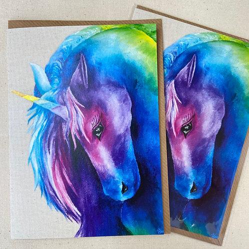 "Unicorn Card 5""x7"""
