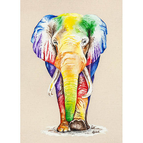 "Elephant ""The Matriarch"" Prints"