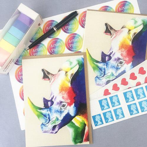 """Rhino Card 5""""x7"""""""