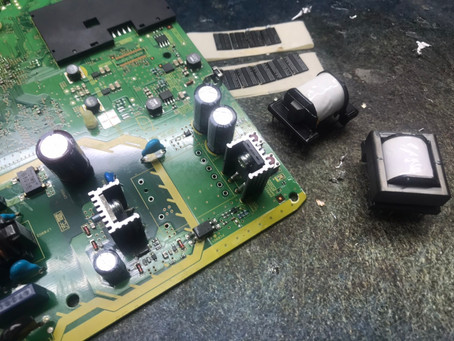 Panasonic TZ-HR400P チューナーの修理記録