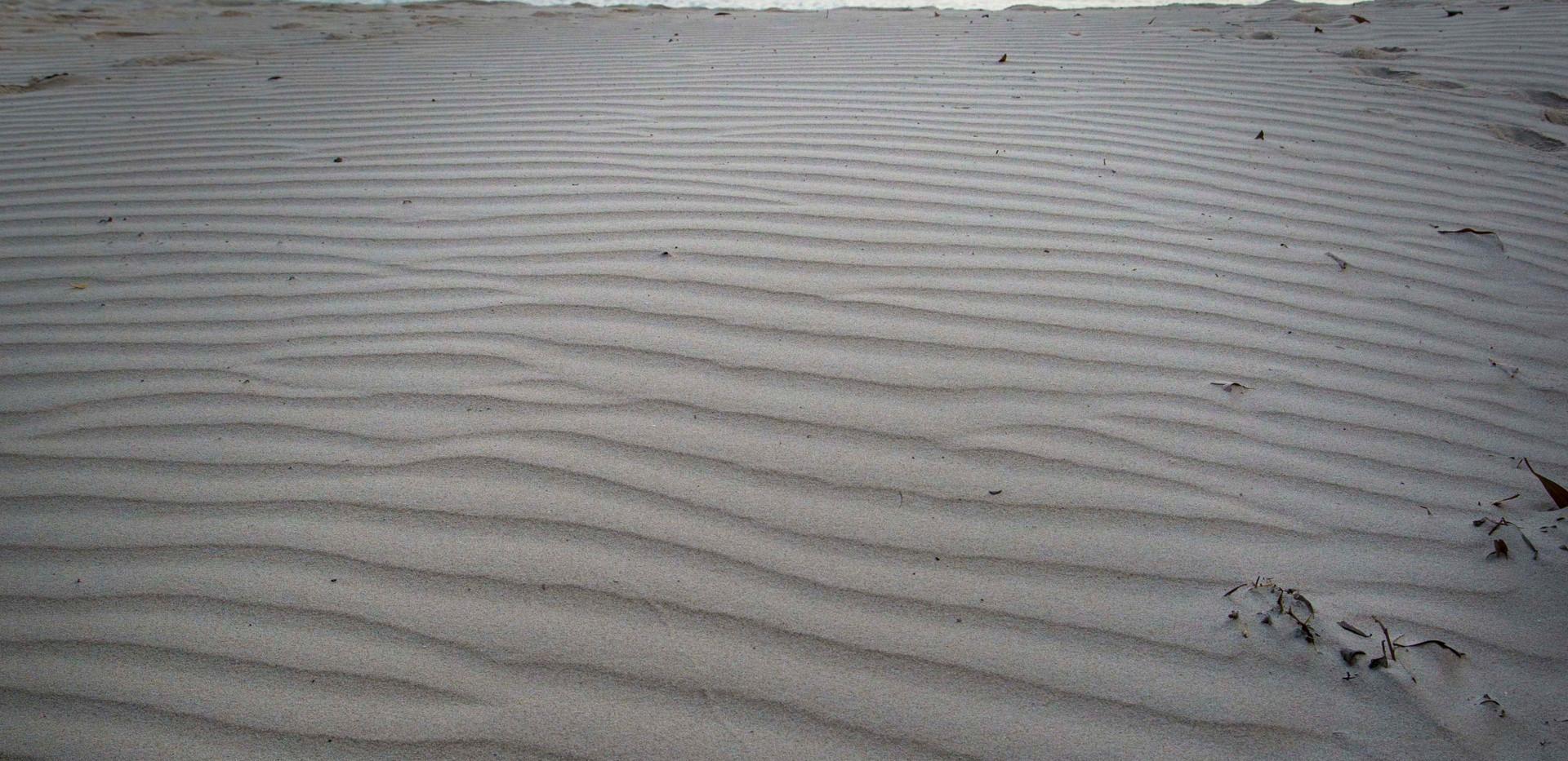 Beyond the sand wall