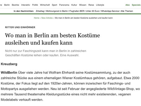 Wildberlin in der Berliner Morgenpost