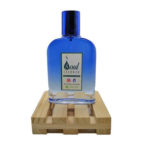 Perfume para hombre 100ml envase azul