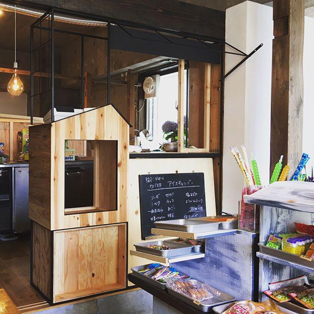 駄菓子屋 「ants」カウンター/furniture/shop