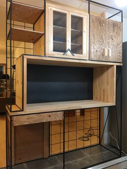 壁兼棚 / furniture