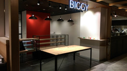 BIGGY パン屋 作業用テーブル