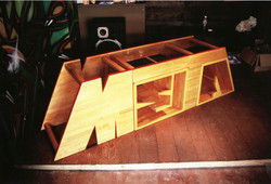 META 洋服屋 什器