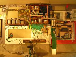 作業場の壁 old