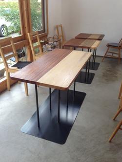 nokka ワインカフェ テーブル