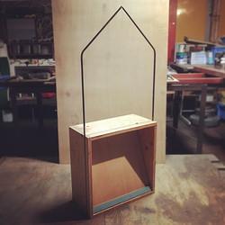小さな箱で作ったお店