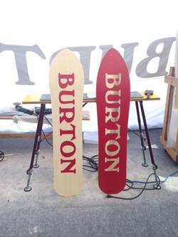BURTON 雪板制作