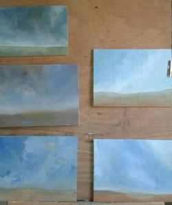Etude des ciels