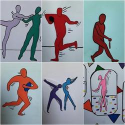 Sportifs, Keith Haring